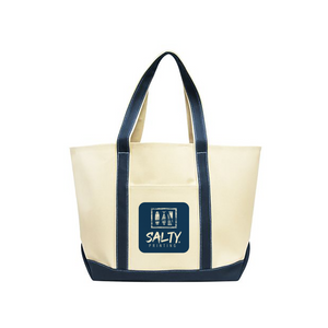 Classic XL Cotton Canvas Boat Tote