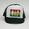 """Trifecta"" Bars Mesh Snapback"