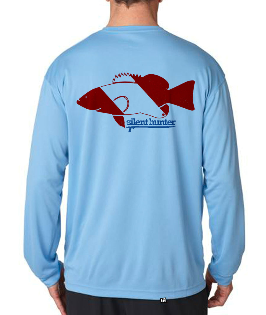 """Grouper Dive Flag"" Dry-Fit Shirt"