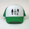 "1 Color ""Trifecta"" Mesh Snapback"