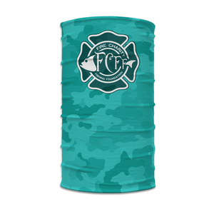 Performance Neck Gaiter - Teal Camo