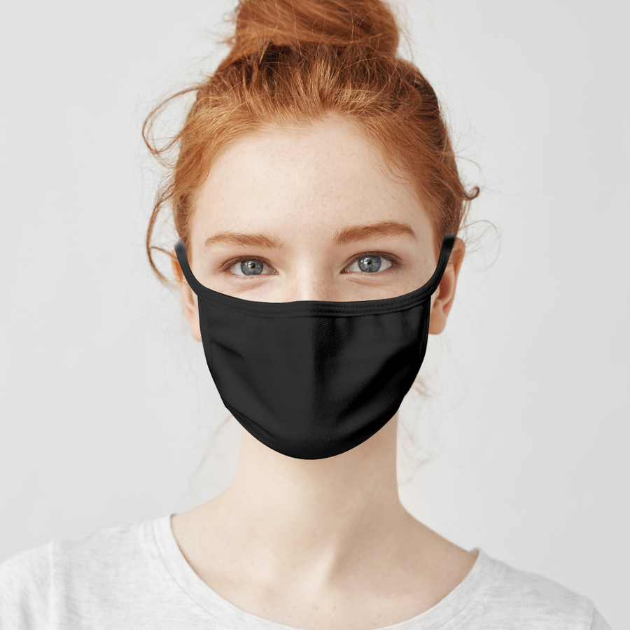 Cotton Flat Face Mask
