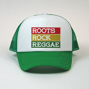 """Roots Rock Reggae"" Bars Mesh Snapback"