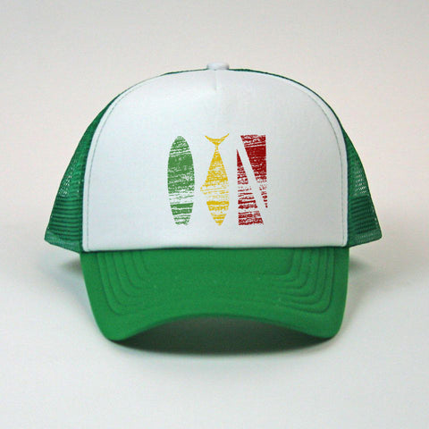 "3 Color ""Trifecta"" Mesh Snapback"
