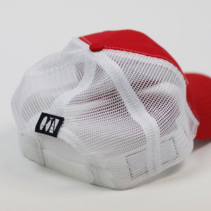 JHooked Classic Mesh Snapback - Red
