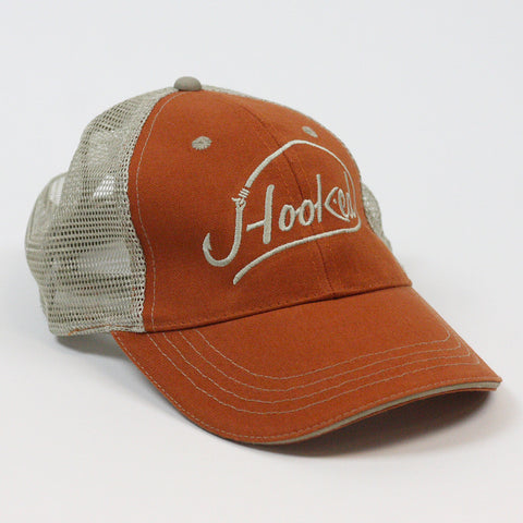 JHooked Cotton Twill w/ Khaki Soft Mesh - Orange or Brown