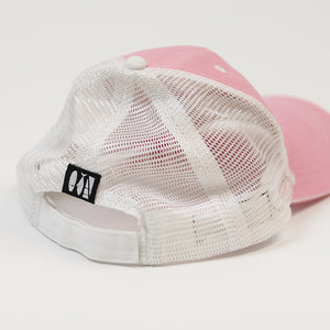 JHooked Cotton Twill with Soft Mesh - Pink