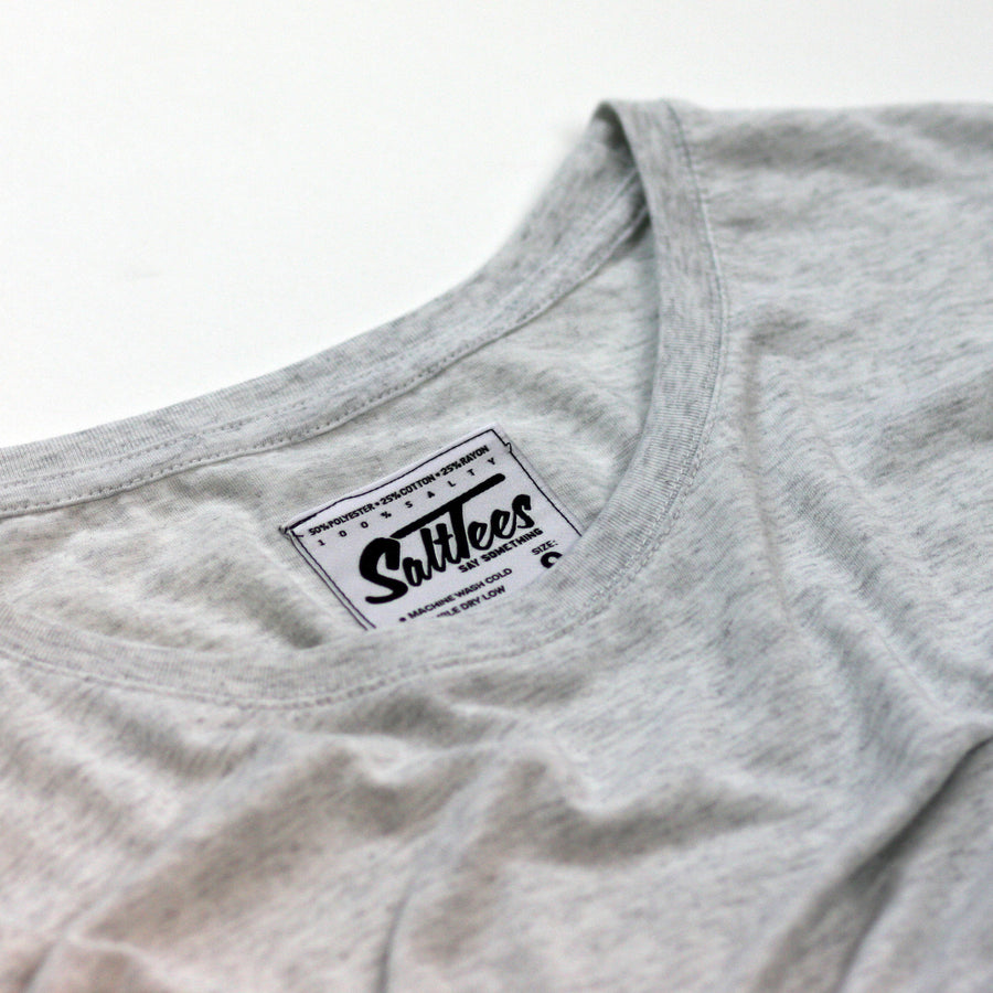 """Salty Hair Who Cares"" Dolman Tee"