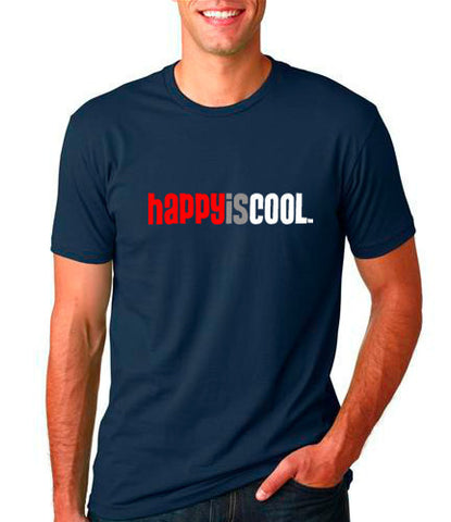 """HappyisCool"" Men's Tee"