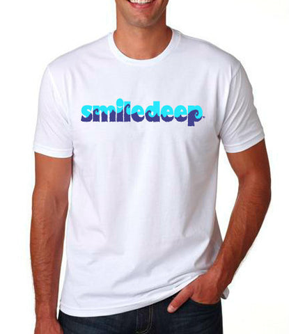 """Smiledeep"" Waves Men's Tee"