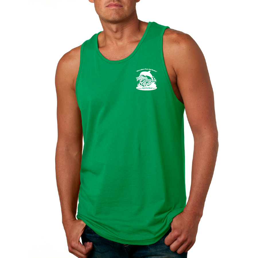 Men's Soft Cotton Tank - NO SALTY ATTITUDES
