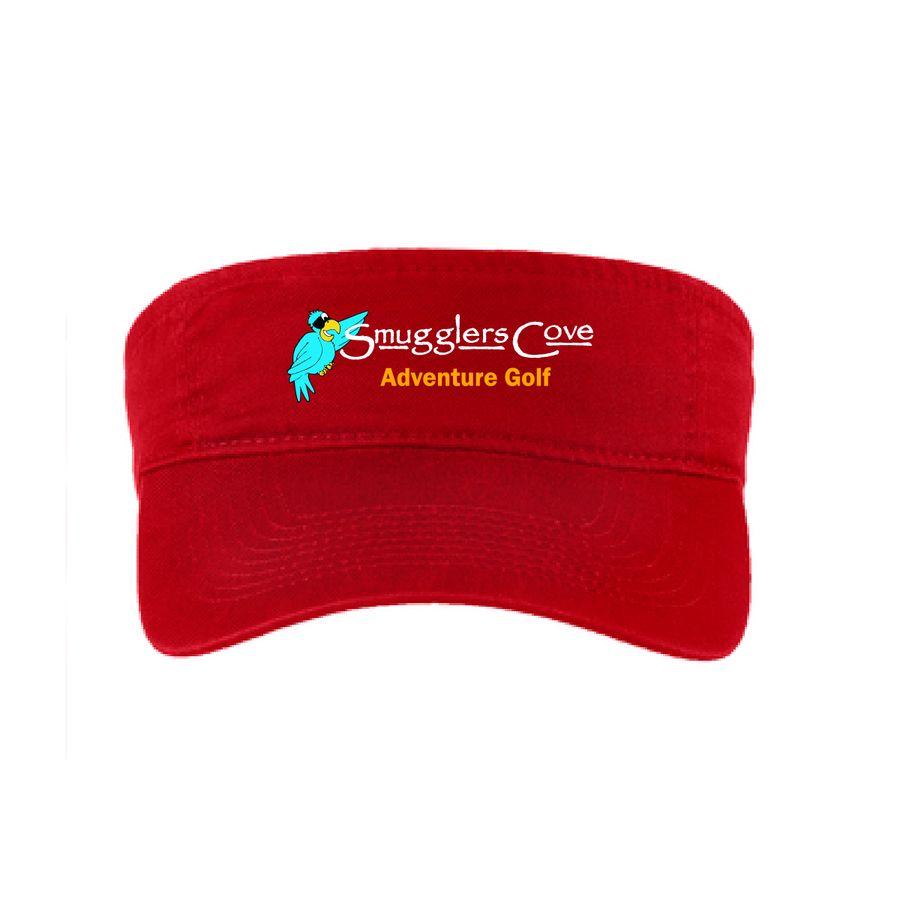 Smugglers Cove Embroidered Cotton Twill Visor