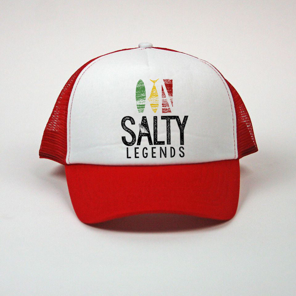 """Salty Legends"" Mesh Snapback"