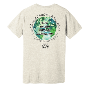 World Creation I Sang My Way CVC Crew Tee