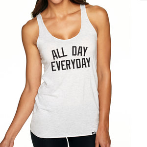 """All Day Everyday"" Racerback Tank"