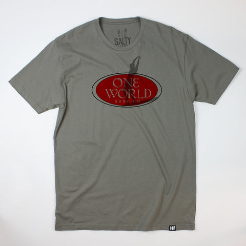 """One World"" Logo Tee"