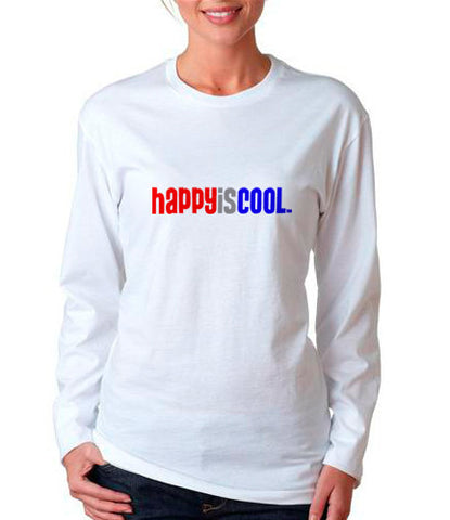 """HappyisCool"" Women's Tee"