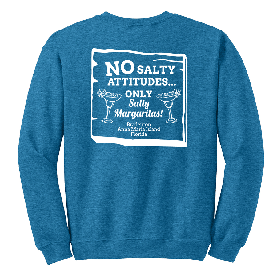 Unisex Heavy Blend™ Fleece Crew - NO SALTY ATTITUDES