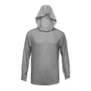Performance Youth Heather Long Sleeve Hoodie