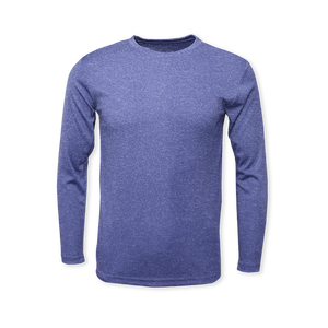 Performance Heather Long Sleeve T-Shirt