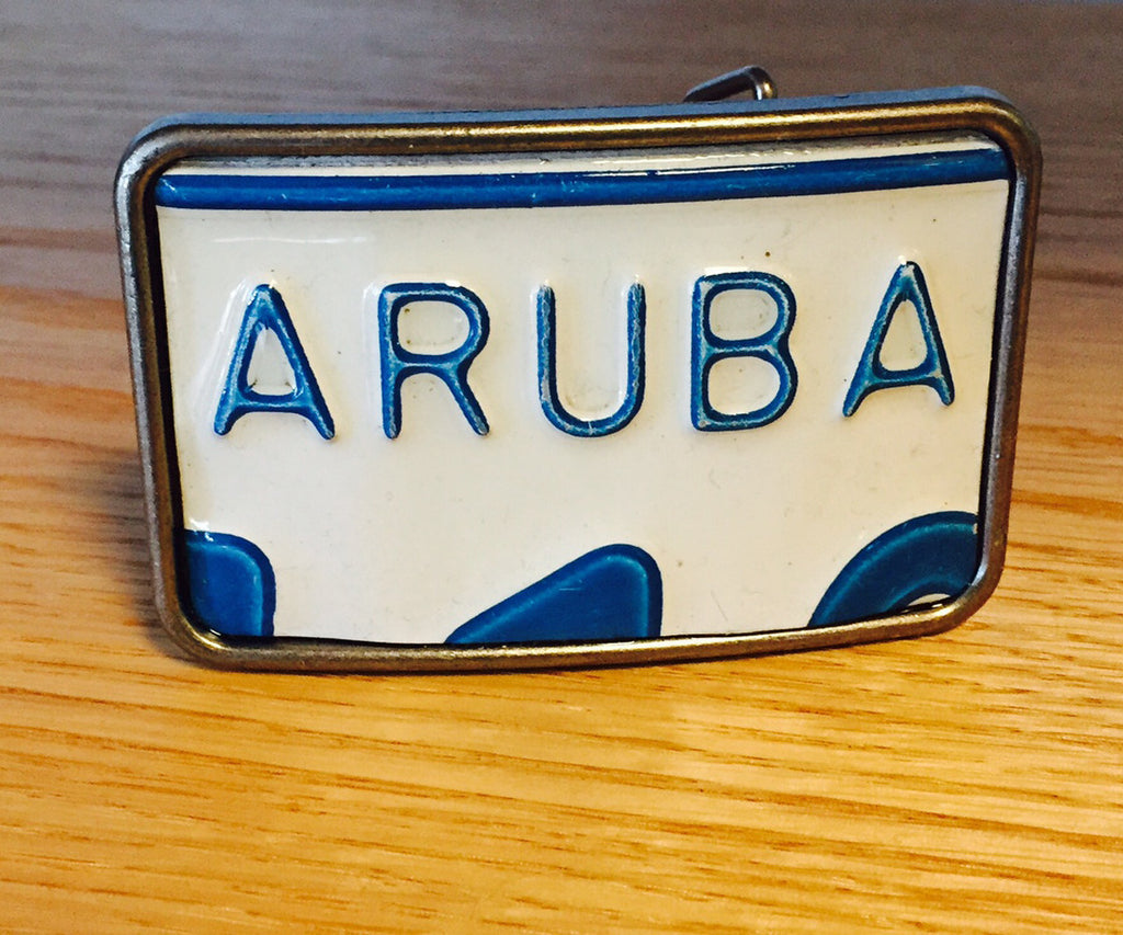 Aruba Blue/White