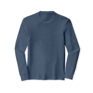 Tri-Blend Crew Long Sleeve Tee