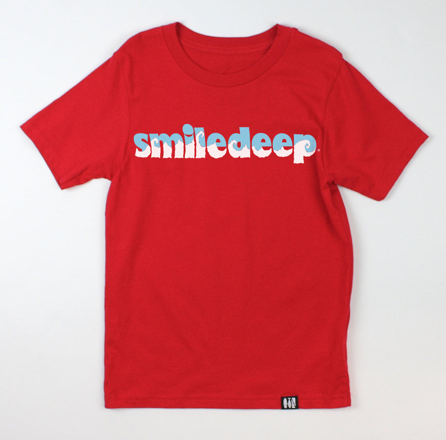 """Smiledeep"" Waves Youth Tee"