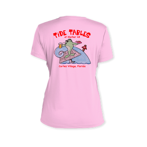 Tide Tables Performance Ladies T-Shirt
