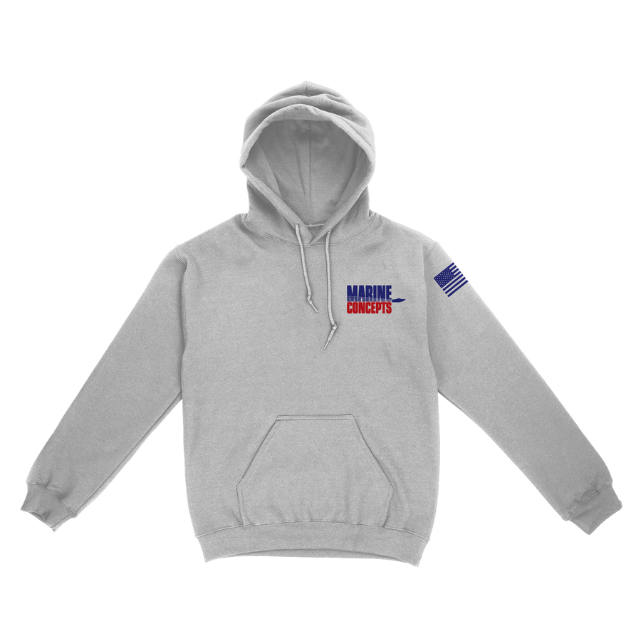 Marine Concepts Pullover Hooded Sweatshirt