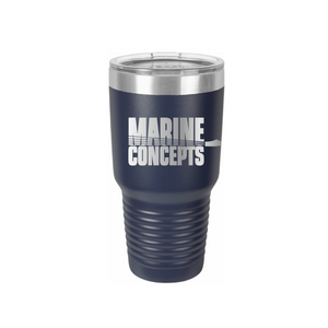 Marine Concepts 30 OZ Tumbler with Slider Lid