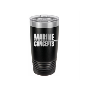 Marine Concepts 20 OZ Tumbler with Slider Lid