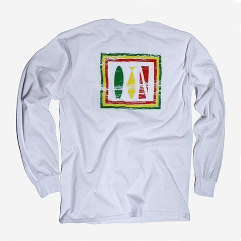 """Trifecta"" Long Sleeve Tee"