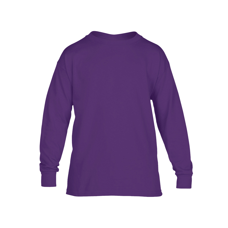 Youth Cotton Long Sleeve T-Shirt