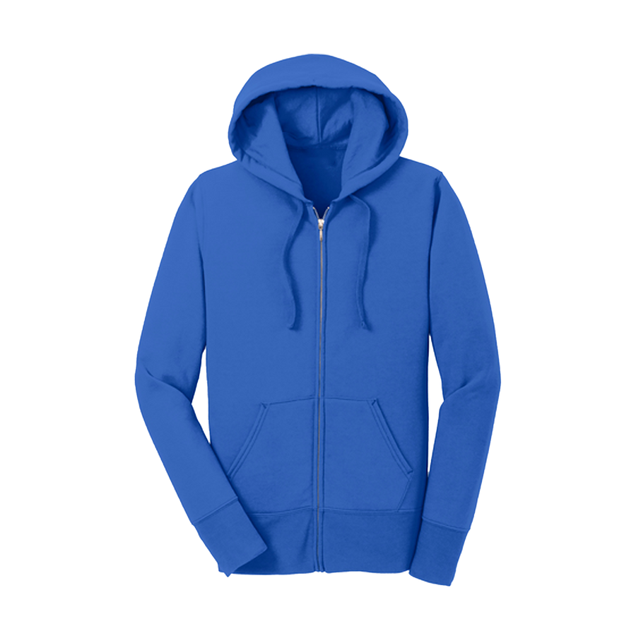 Ladies Fleece Full-Zip Hooded Sweatshirt