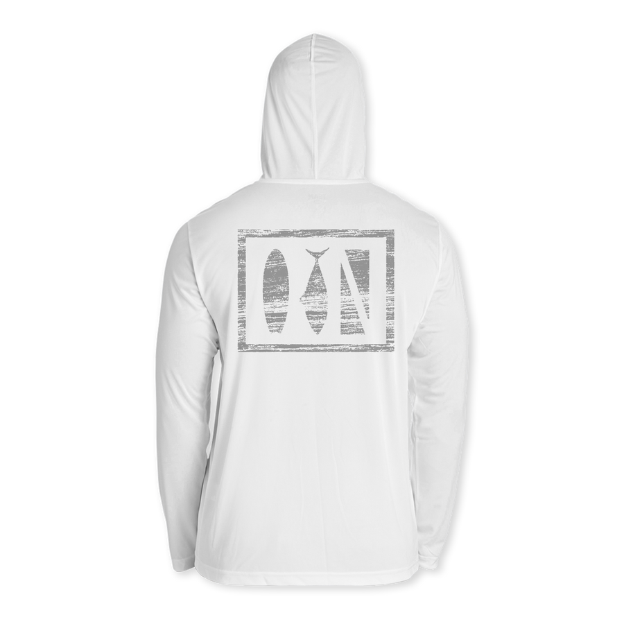 Salty Logo Performance Youth Hoodie