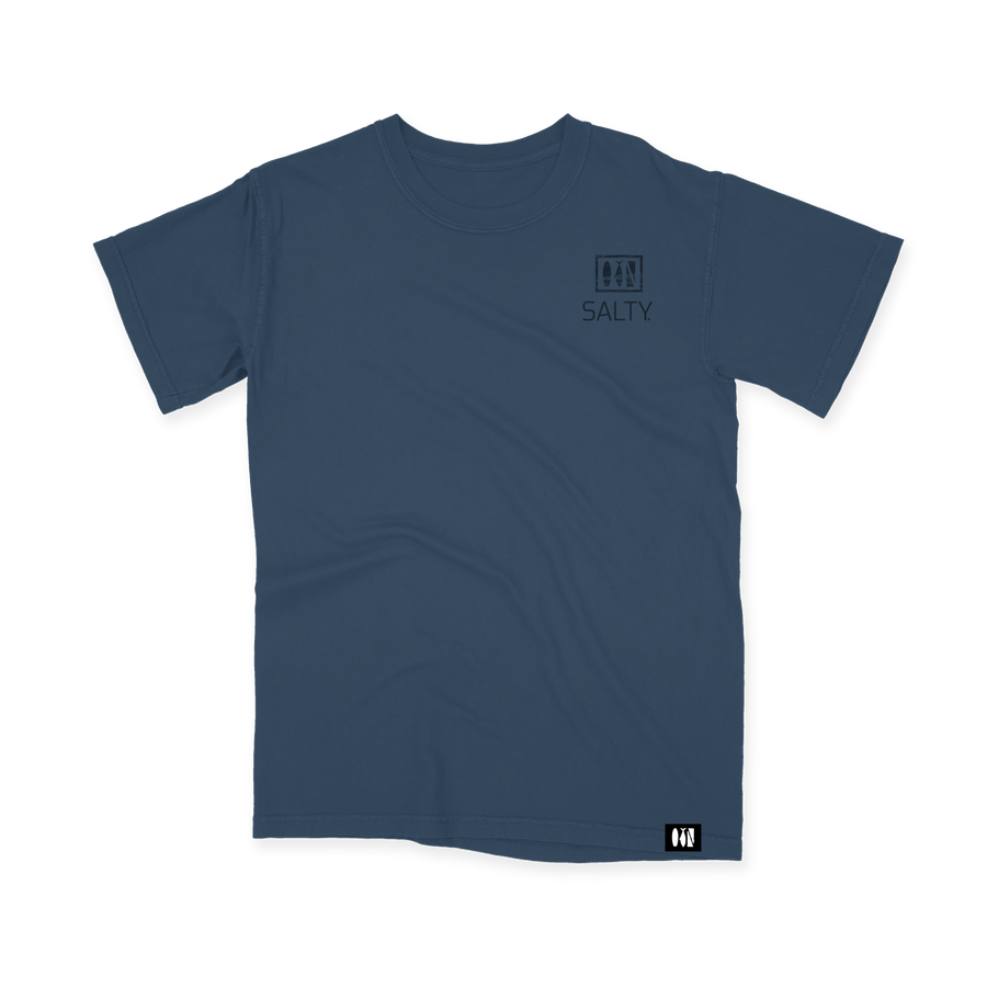 Salty Logo Comfort Colors Youth Tee