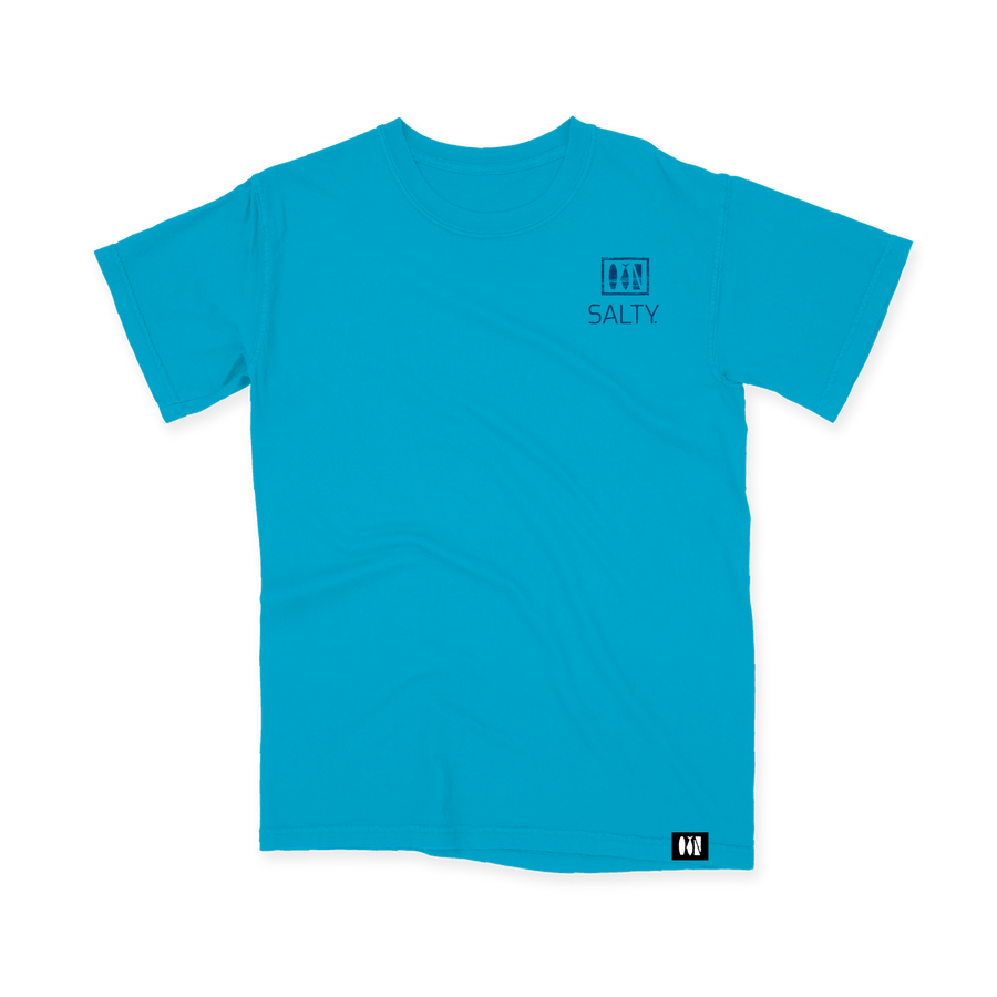 Salty Logo Comfort Colors Tee