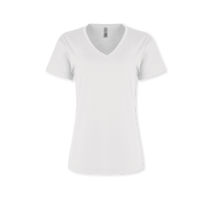 Ladies Jersey Relaxed V-Neck Tee