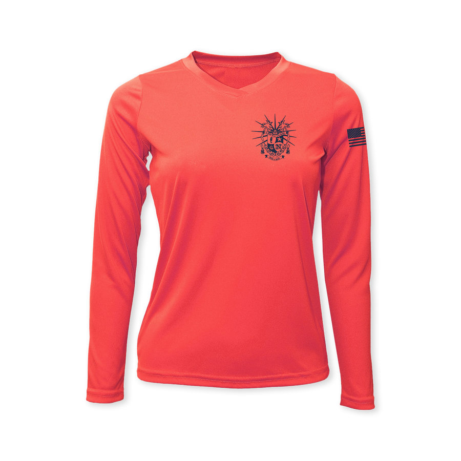 Nautilus Krewe Performance Ladies Long Sleeve T-Shirt