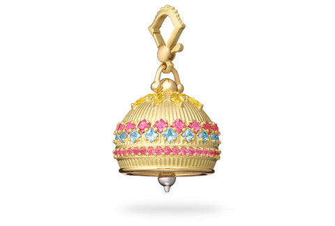MEDITATION BELL WITH GEMSTONES