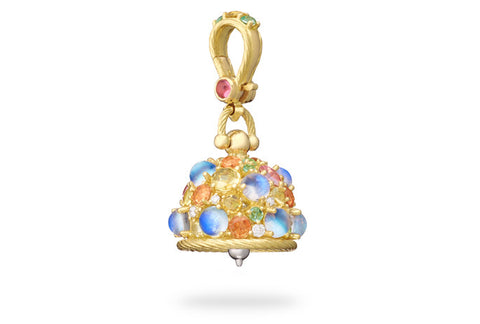 CAPRI MEDITATION BELL WITH DIAMONDS