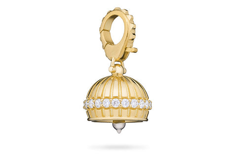 DHARMA MEDITATION BELL WITH DIAMONDS