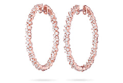 CONFETTI HOOP EARRINGS MEDIUM