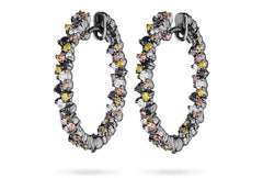 CONFETTI HOOP EARRINGS SMALL