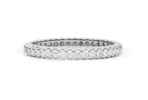 PINPOINT DIAMOND ETERNITY RING