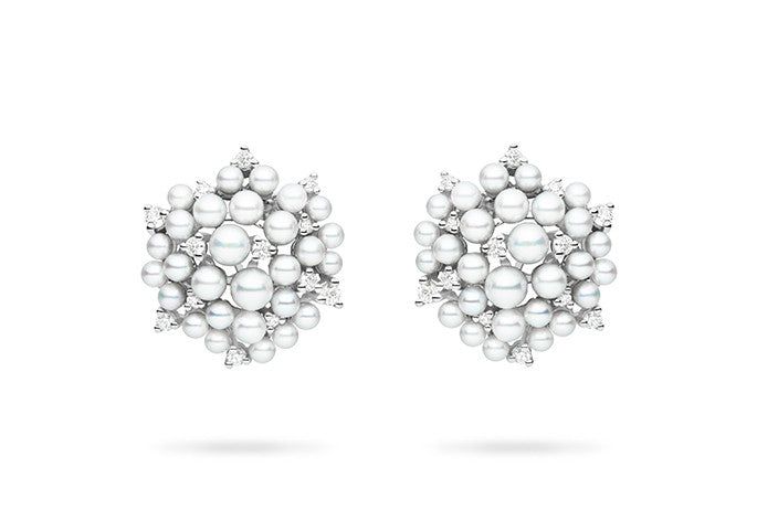 LAGRANGE PEARL STUD EARRINGS