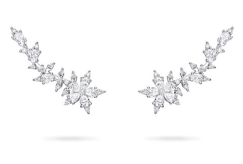 STELLANISE TRELLIS STUD EARRINGS