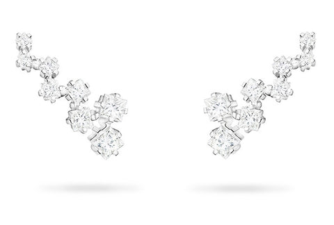 OFFSET SQUARE TRELLIS EARRINGS