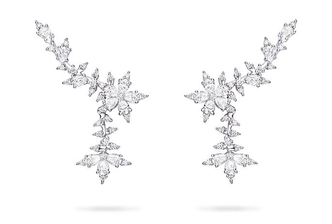 STELLANISE TRELLIS DROP EARRINGS