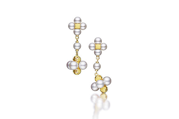 PEARL SEQUENCE DROP EARRINGS